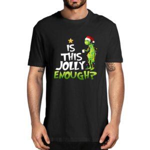 Vánoční stylové tričko Grinch