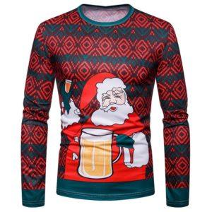 Pánské luxusní vánoční triko Pepe