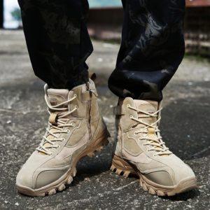 Pánské vojenské zimní boty Wulf