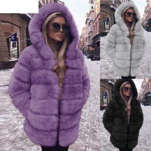 Dámský moderní zimní kabát Lorey