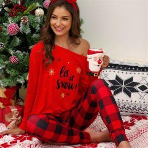Dámské vánoční pyžamo Julie