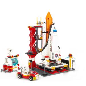 Dětská stavebnice startovací rampa - Raketa