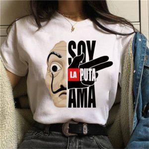 Dámské tričko La Casa De Papel
