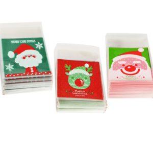 Vánoční dárkové sáčky - 100 ks