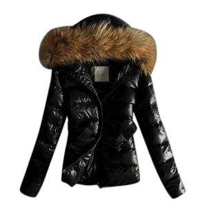 Dámská prošívaná lesklá bunda s kapucí Janice