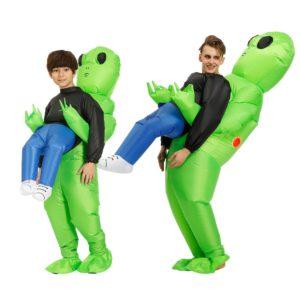 Halloweenský kostým mimozemšťana