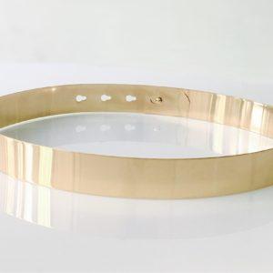 Dámský módní kovový pásek