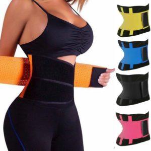 Fitness zeštíhlující pás na zpevnění břicha