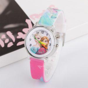 Dětské svítící hodinky s motivy Ledového králoství