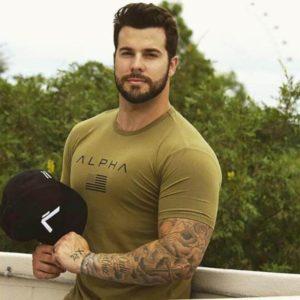 Pánské fitness tričko Alpha