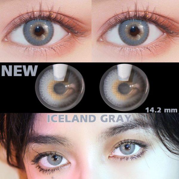 Barevné oční čočky