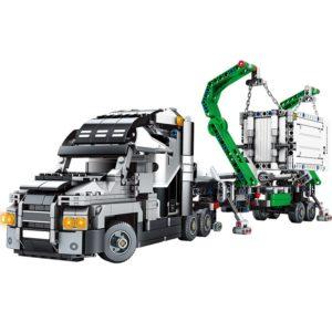 Stavebnica kamión s návesom 1202 ks