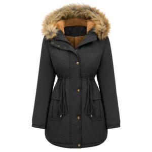 Dámský stylový zimní kabát Mair
