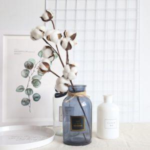 Umělé květiny do vázy Cotton
