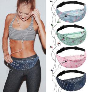 Women Waist Fanny Pack Belt Bag Chest Pouch Travel Sport Hip Bum Bag Small Purse Hot New Floral Printed Woman Sports Waist Bag