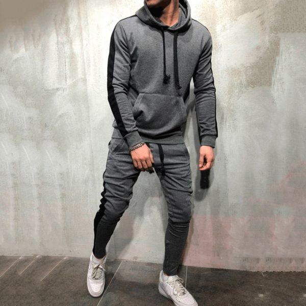Pánská stylová tepláková souprava na běžné nošení nebo sport