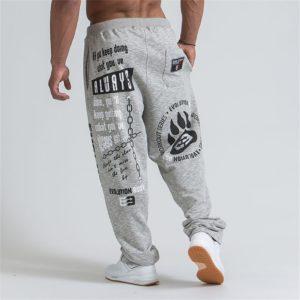 Pánské stylové bodybuildingové kalhoty Ali