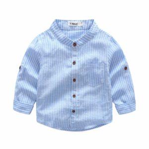 Chlapecká módní letní bavlněná košile Piers