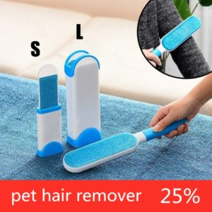 2020 New pet hair remover The Popular New Pet Hair Brush Hair Removal Comb Sofa Bed Portable Home Cleaning Brush lint remover