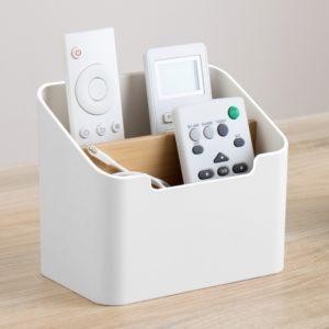 Multi-function Storage Box TV Air Conditioner Remote Control Organizer Practical Tissue Box Home Cosmetic Storage Box