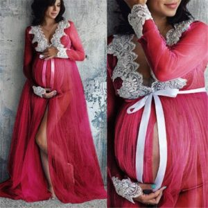 Těhotenská košilka na focení