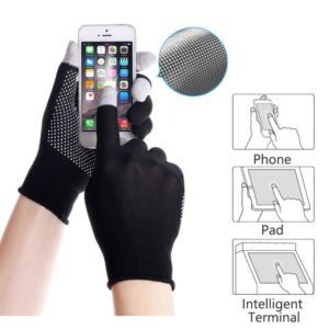 High Elastic Sunscreen Gloves Touch Screen Men Driving Outdoor Hiking Glove Non-slip Breathable Sports Riding Mitten