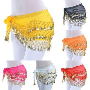 Penízkový šátek na břišní tance