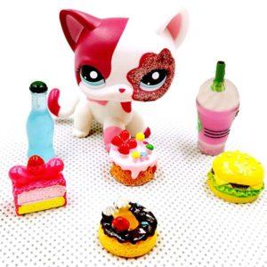 Pamlsky pro figurky Little Pet Shop