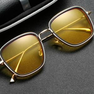 Luxusní čtvercové sluneční brýle pro muže i ženy