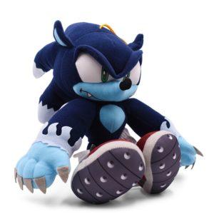 Modrý plyšový ježek Sonic