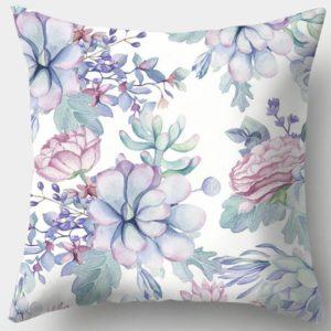 Povlak na polštář s květinami
