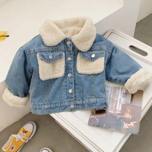 Dětská bunda s kožíškem Fashion Clothes