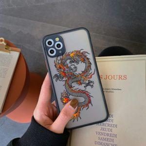 Vysoce kvalitní zadní kryt pro iPhone - Dragon