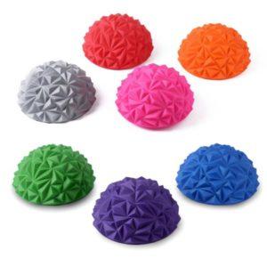 Outdoorový balanční masážní cvičební dětský míč ve tvaru polokoule