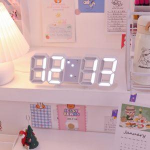 3D Digitální hodiny