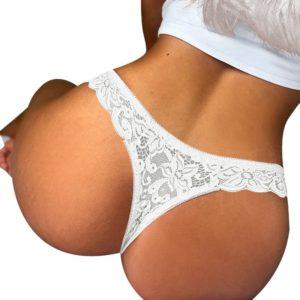 Sexy dámské kalhotky - tanga s krajkou Luren