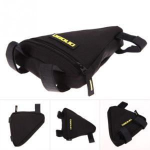 Trojúhelníkový úložný turistický batoh pro cyklisty