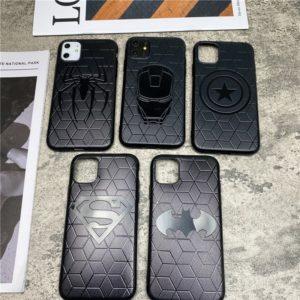 Silikonové kryty na iPhone se superhrdinama