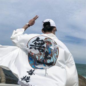 Pánské kimono Portier