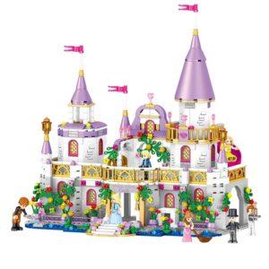 Překrásná dětská stavebnice - hrad pro princeznu