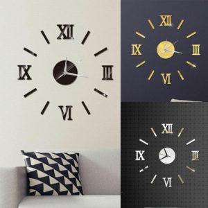 Moderní 3D nástěnné hodiny Giant