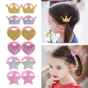 Ozdobné gumičky do vlasů pro holčičky