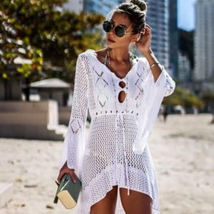 Dámské síťované šaty na pláž Adelaila - Kolekce 2021