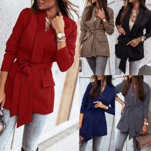 Dámský elegantní kabát na jaro/podzim Ilaria