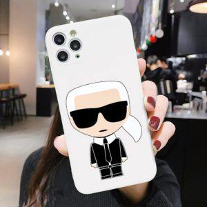 Luxusní designový kryt Karl Lagerfeld - Iphone