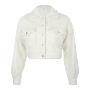 Dámská teplá bunda z umělé ovčí kožešiny Kaiz - Kolekce 2021
