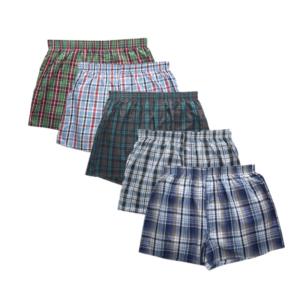 Sada 5 ks pánských pohodlných boxerek