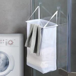 Nástěnný závěsný koš na prádlo