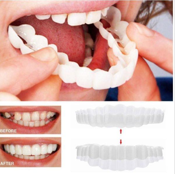 Vysoce kvalitní silikonová zubní náhrada pro krásný úsměv