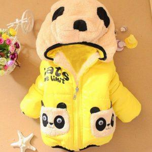 Dětská podzimní roztomilá bundička - Panda